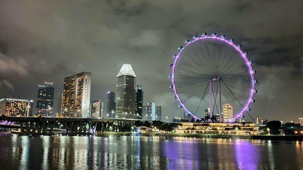 Singapore Flyer - Singapore night attractions photos