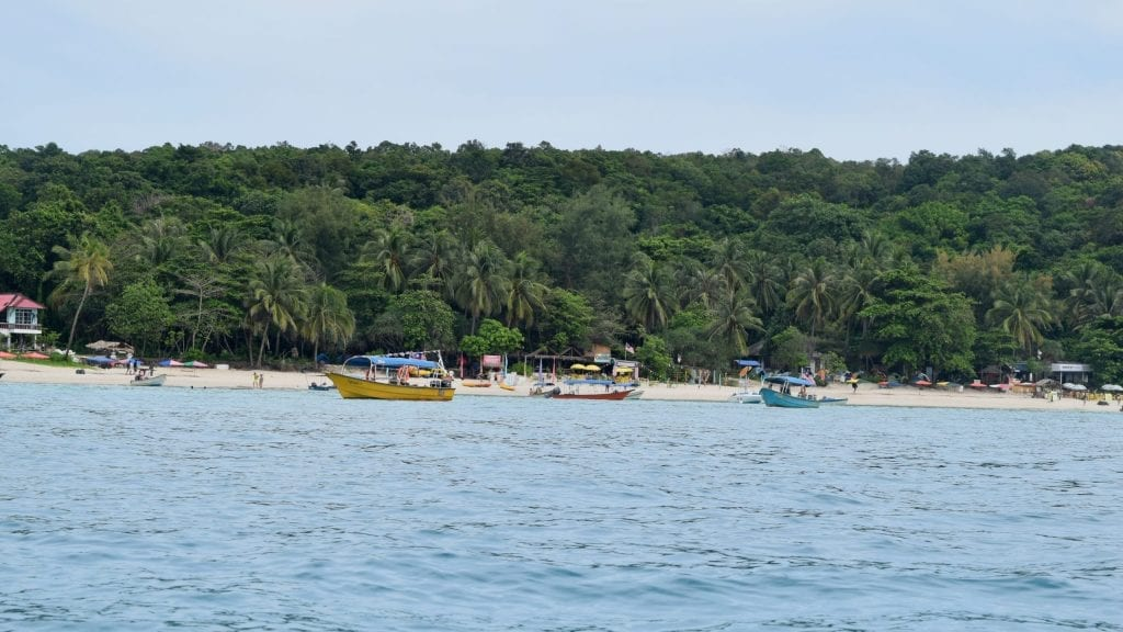We have arrived to Perhentian Islands from Kuala Lumpur