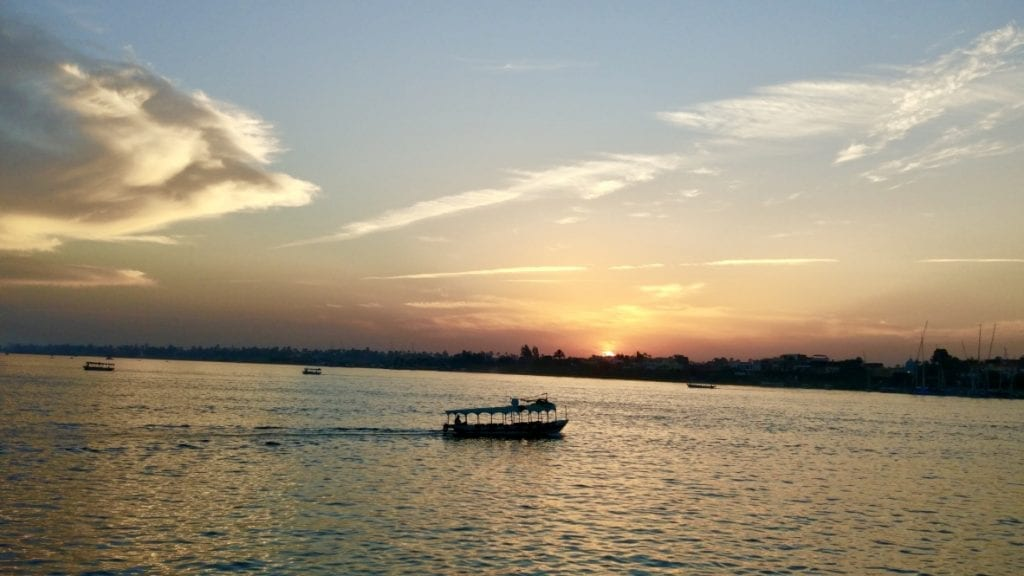 A sunset in Nile should be top of your Luxor itinerary.