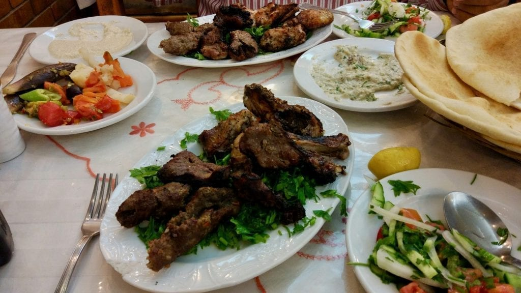 Egyptian kebab.