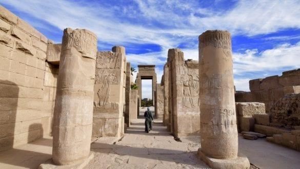 Inside Karnak Temple in Luxor