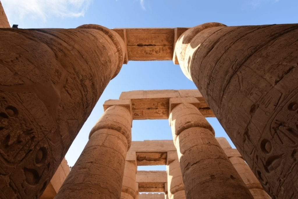 Karnak temple in Luxor is a must visited place in your 7 Days Egypt Itinerary.