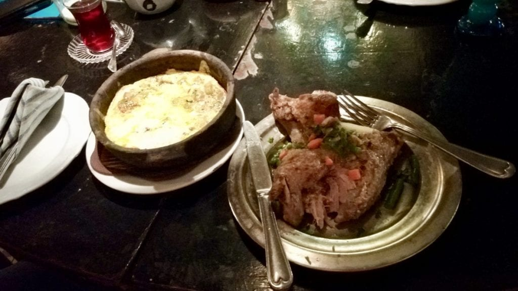 Food in Luxor is delicious.