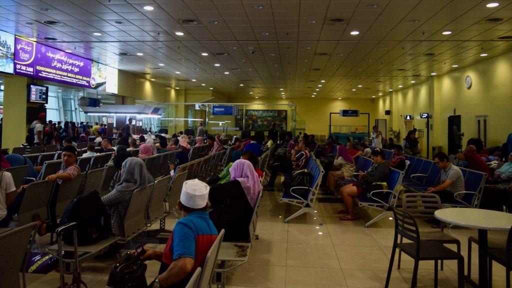 First step of Kuala Lumpur to Perhentian Islands is to reach Kota Bharu.