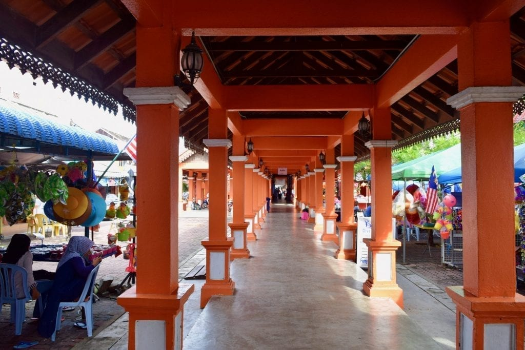 Ferry jetty in Kuala Besut from where you will get a boat for Perhentian Islands.