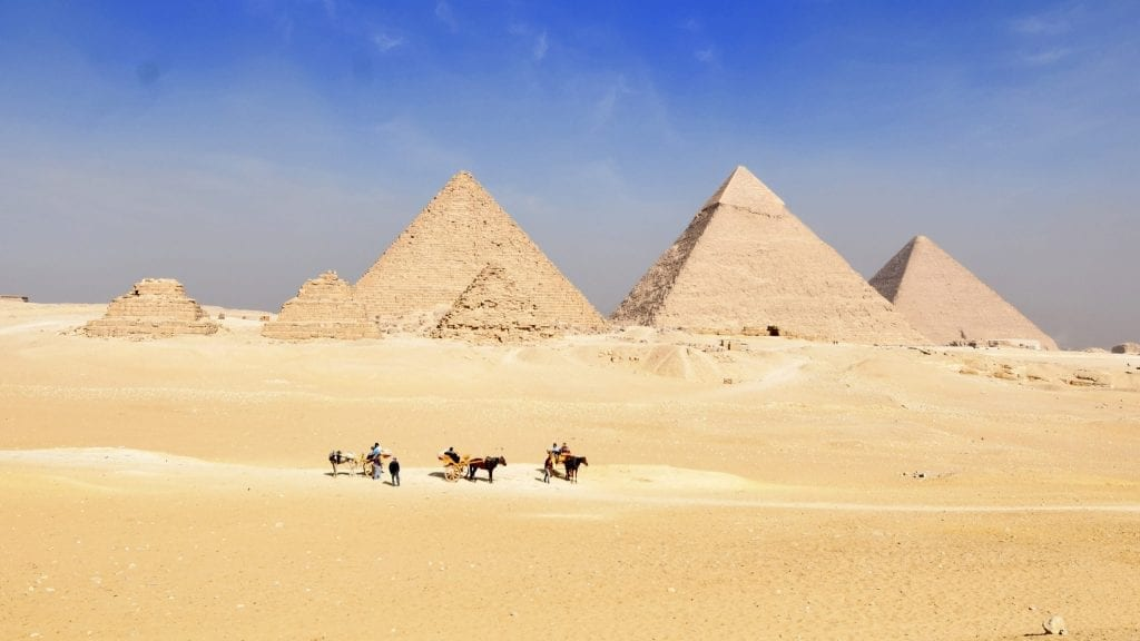 Pyramid in Giza is one of the top destinations in the world.