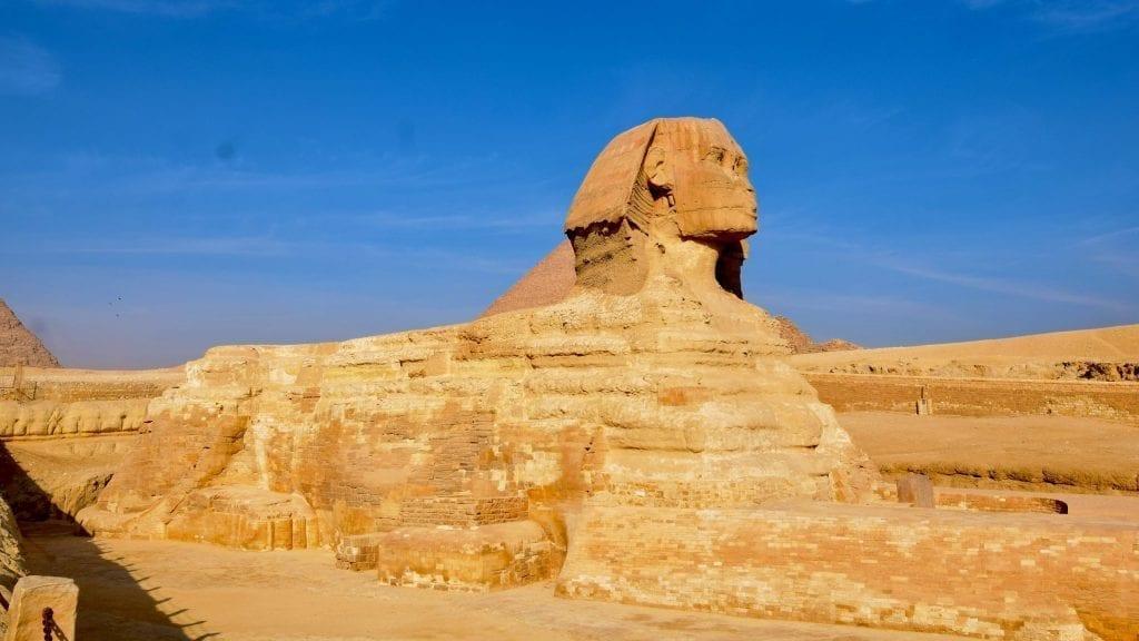 Sphinx in Giza.