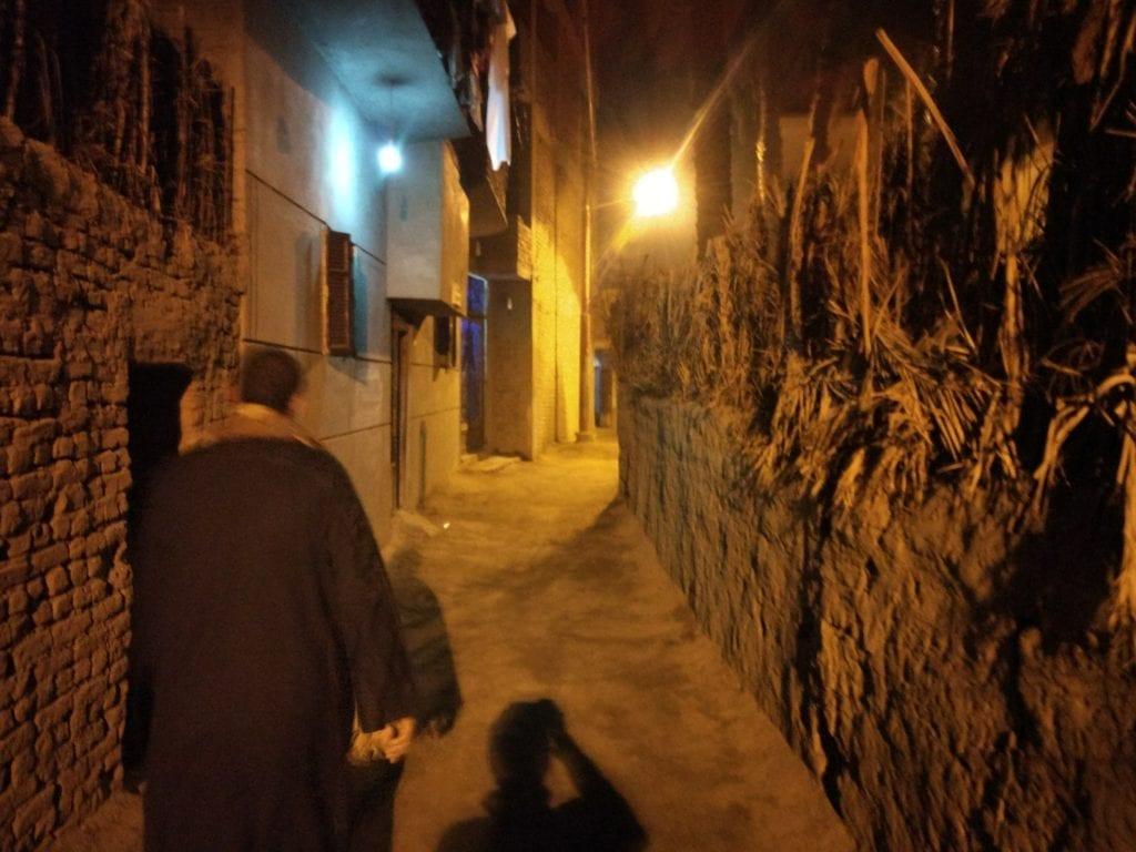 I was following Ismael, my Airbnb host in Luxor