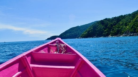 Boat to Turtle Island