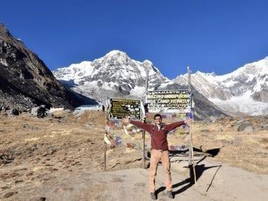 In Annapurna Base Camp