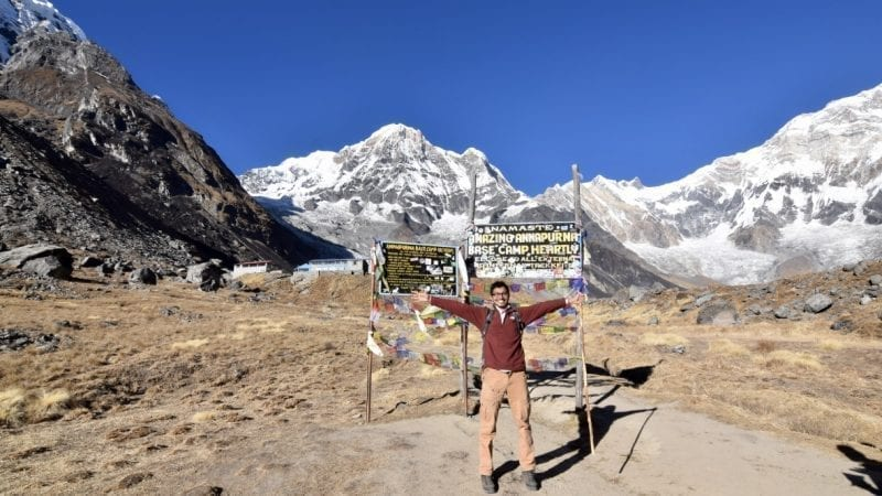 In Annapurna Base Camp