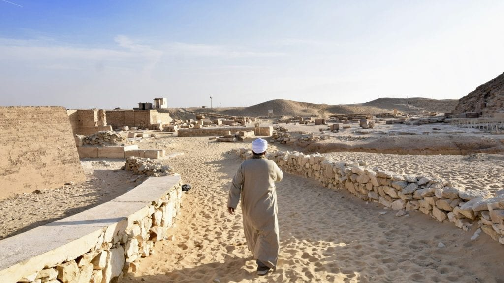Djoser complex in Egypt.