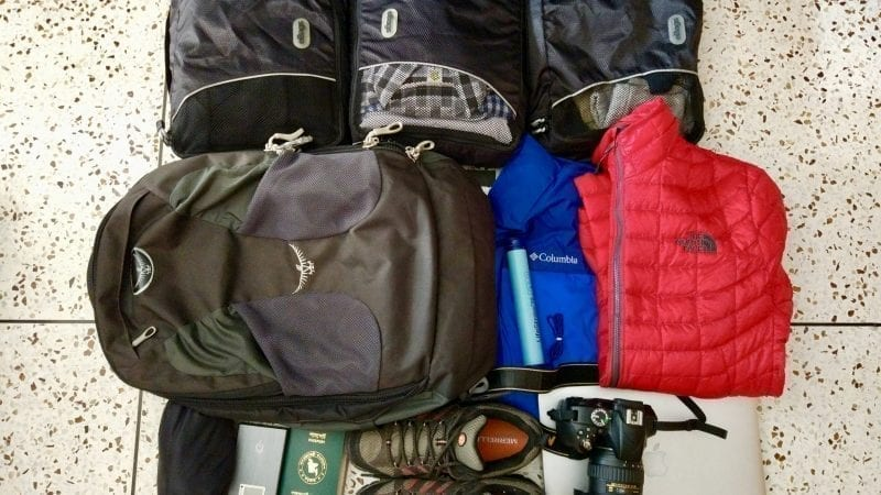 Packing list for Annapurna Basecamp Trek