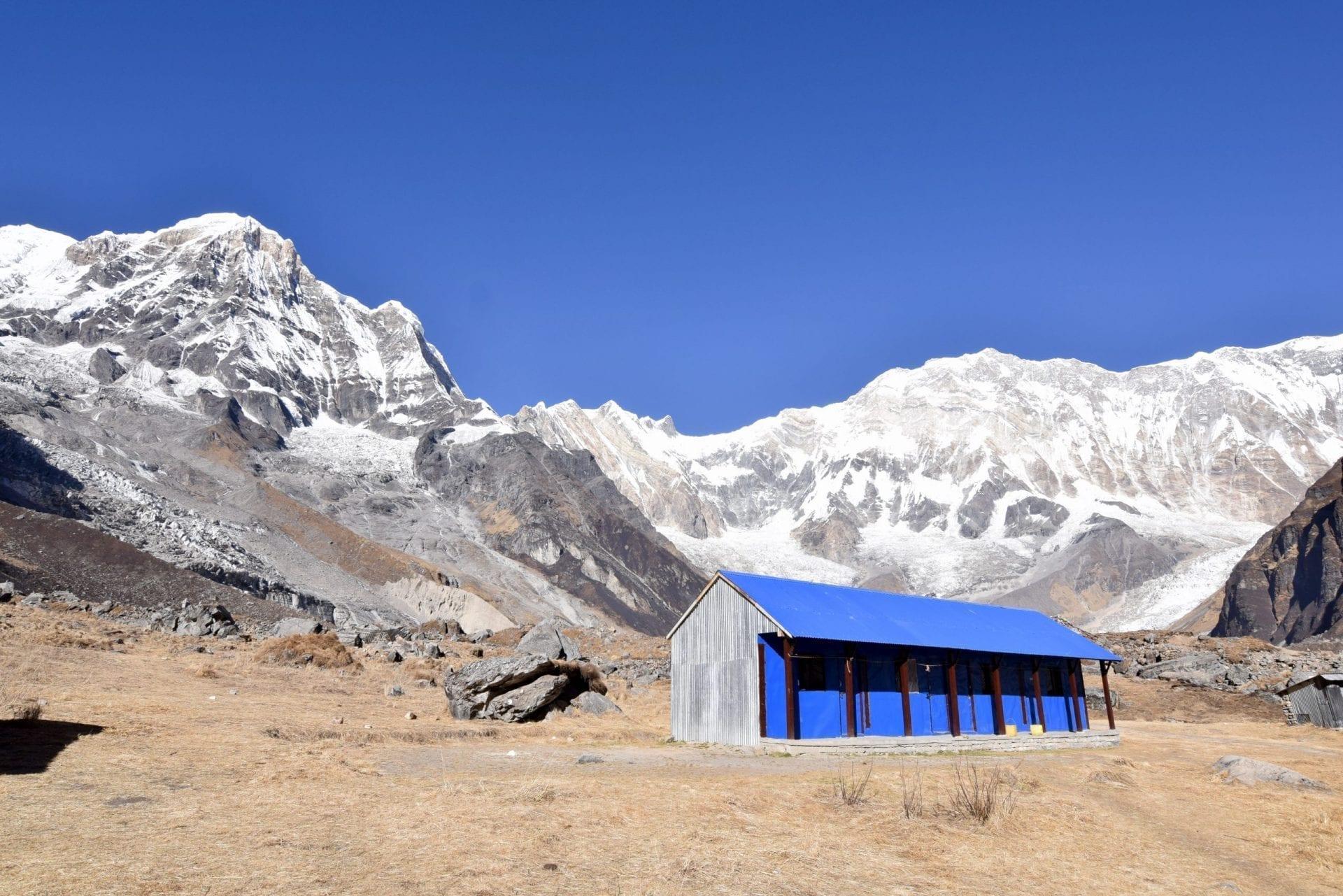 A pretty house in Annapurna Base Camp