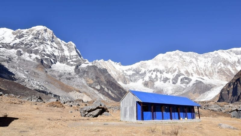 A pretty house in Annapurna Base Camp