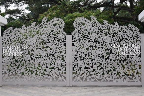 Entry Gate of Singapore Botanic Gardens