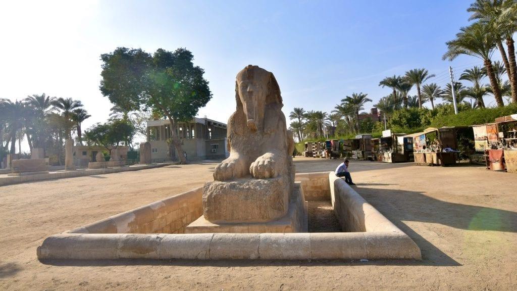 Sphinx of Memphis.