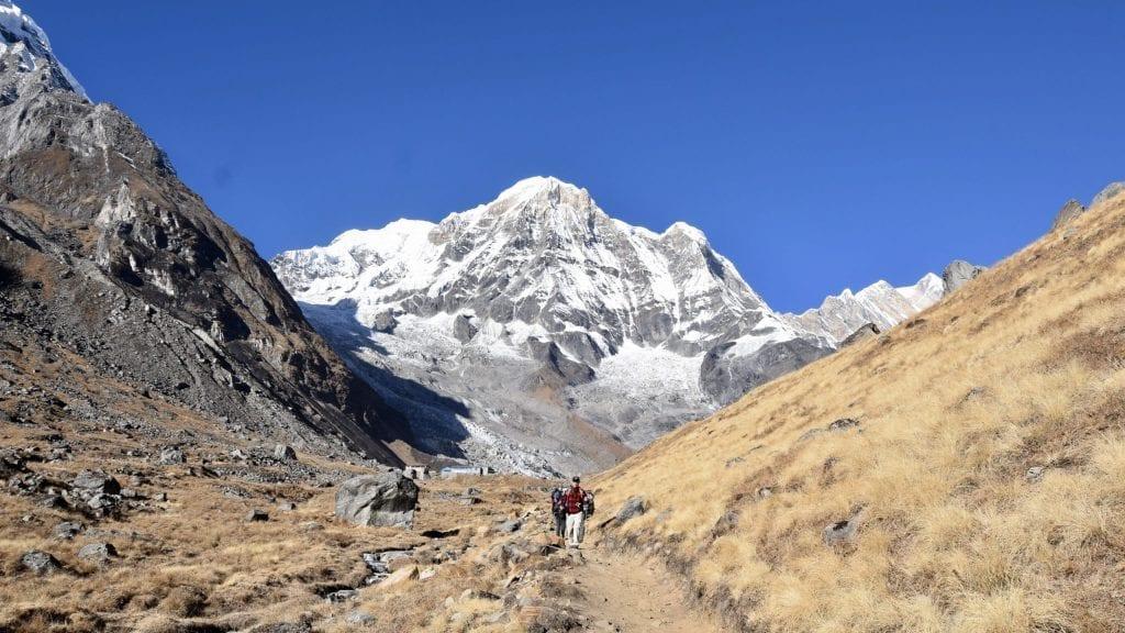 Last 10 minutes of Annapurna Sanctuary Trek.