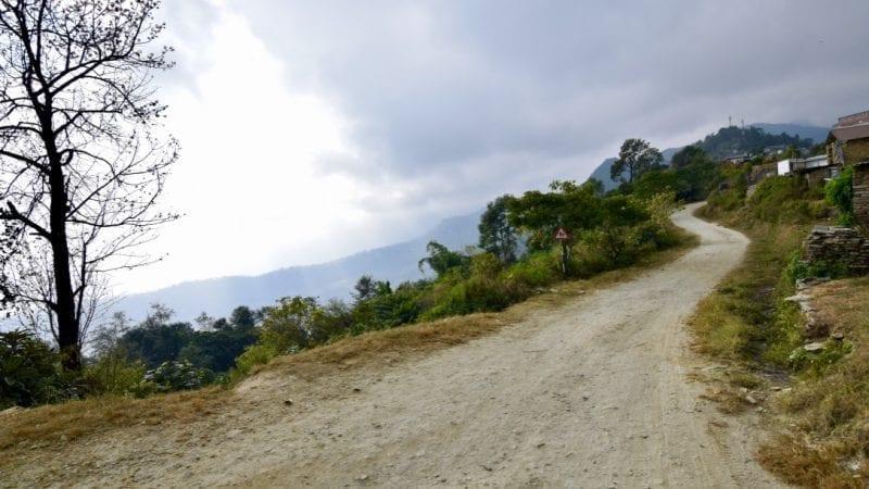 Village road in Nepal