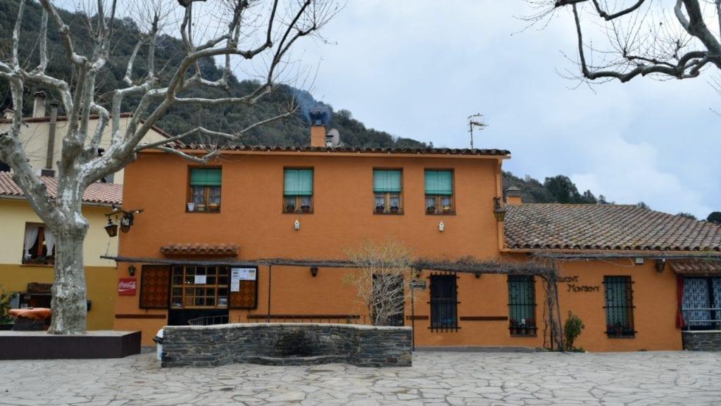 A pretty restaurant in Montseny.