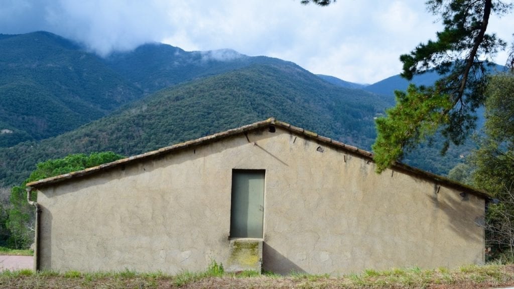 An interesting house in Montseny.