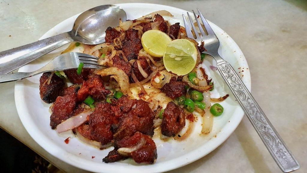 Kabab at Nizam is the best in Kolkata.