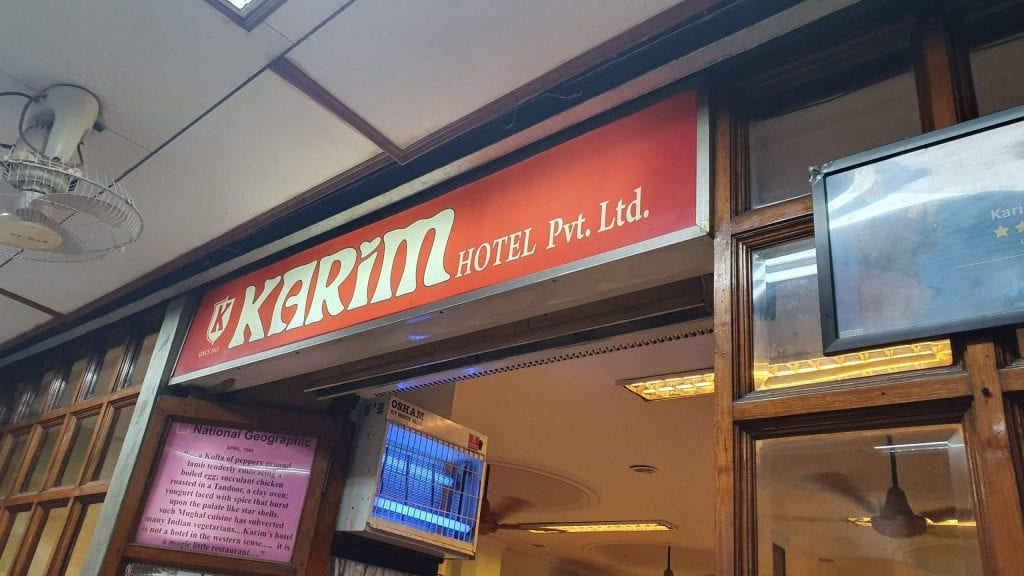 Delhi in 2 days will be incomplete without eating Kabab In Karim.