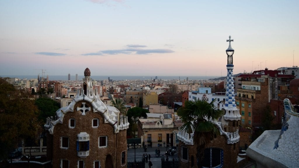 Park Guell is a top tourist destination in Barcelona.