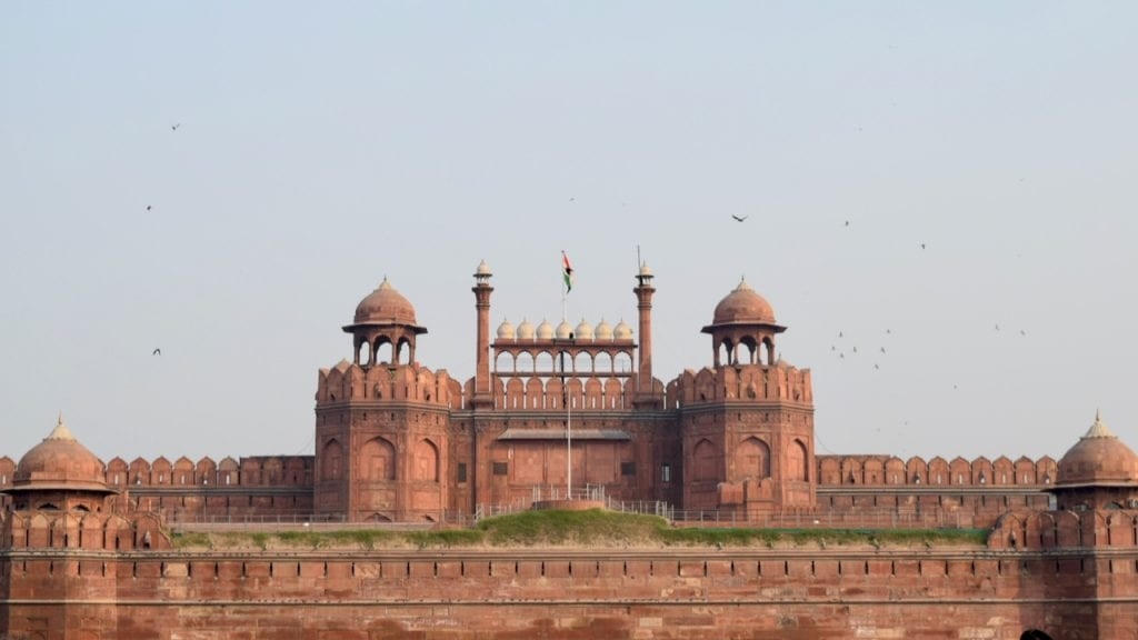 2 days in Delhi covers the Red Fort.