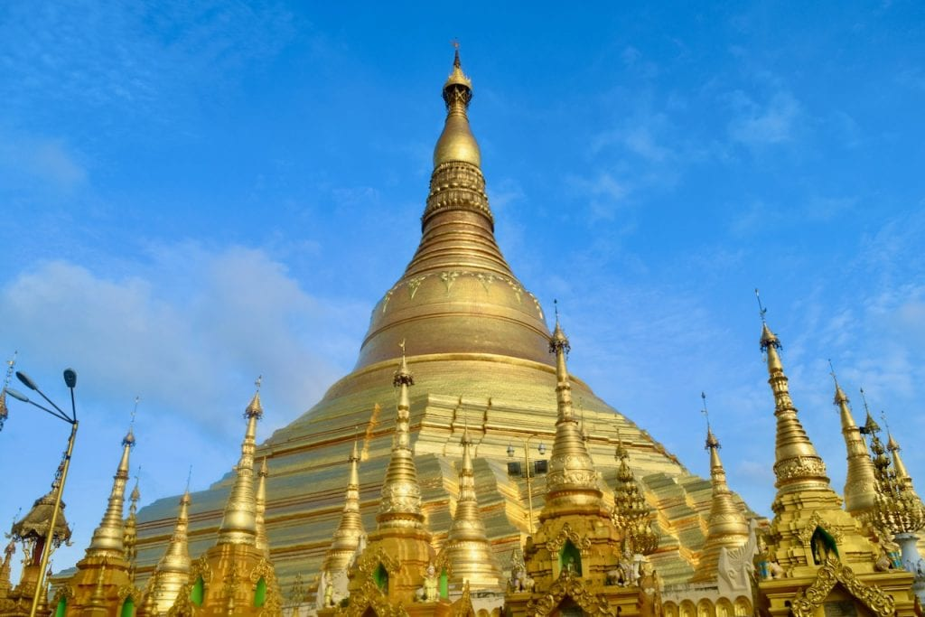 Shwedagon Pagoda - Inside a World of Gold