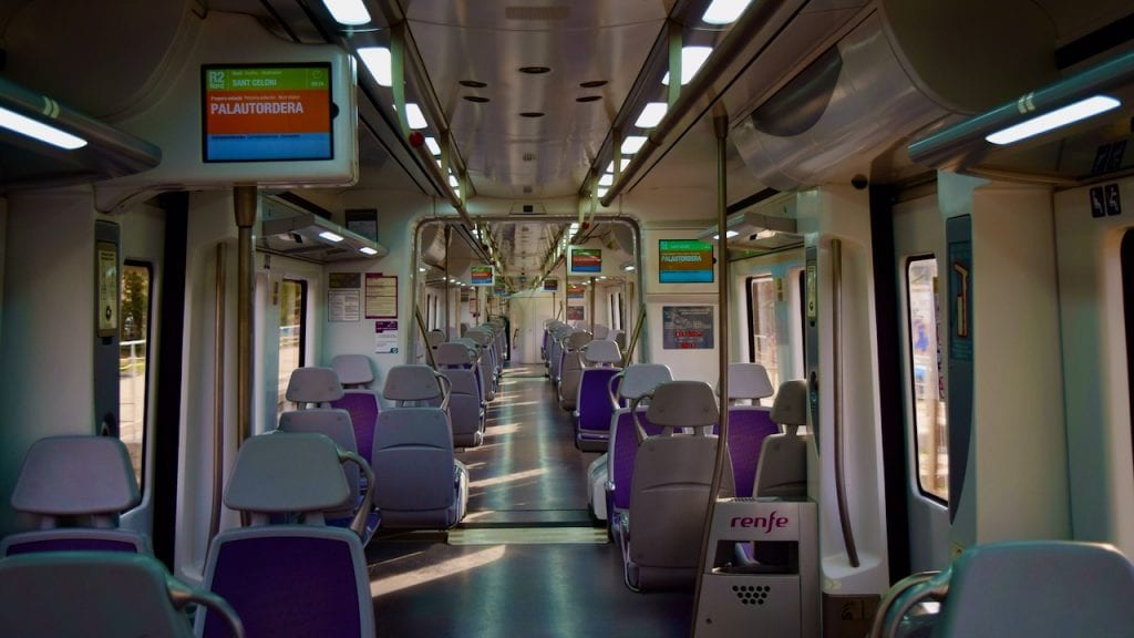 Train to Montseny as a day trip from Barcelona.