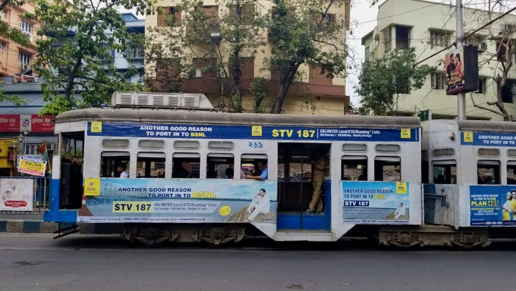 Places to Visit in Kolkata can be done with iconic Tram ride.