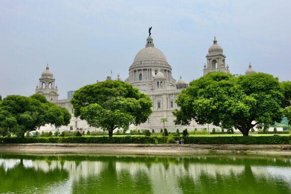 Victoria Memorial in Kolkata