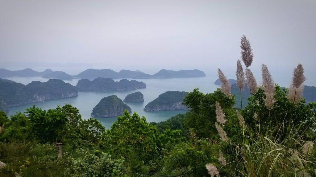 Cat Ba island Top View