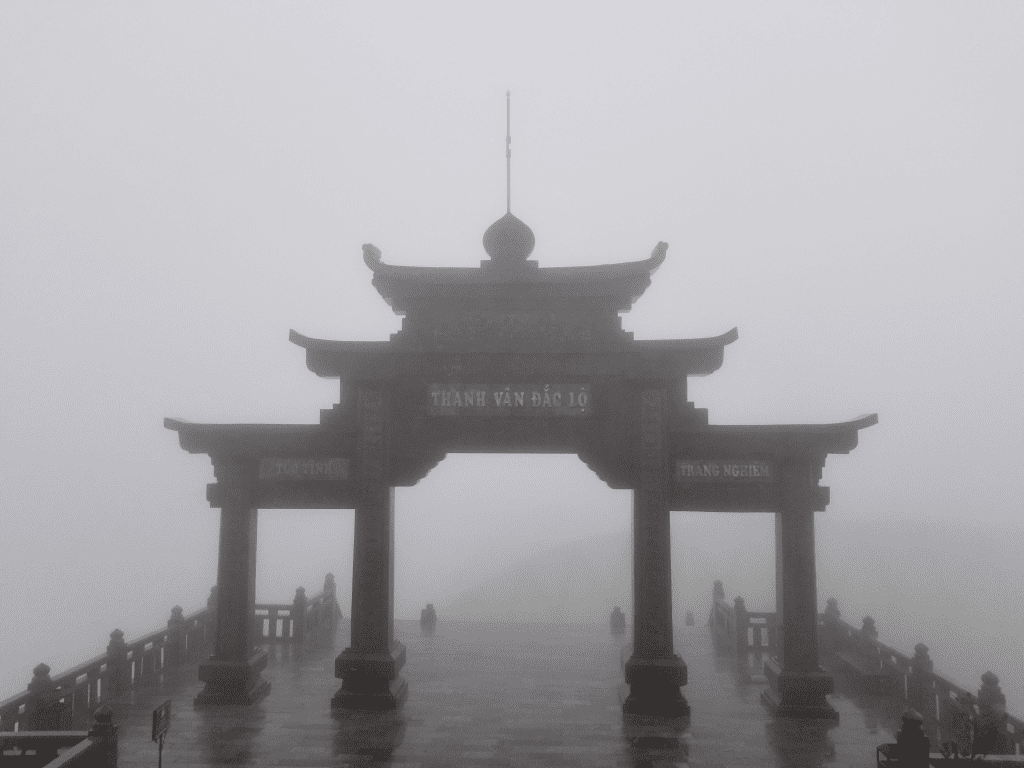 Gate to mount Fansipan