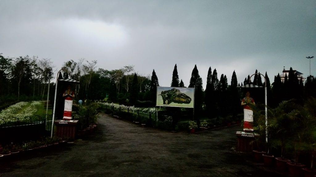 Khumulwng Park in Tripura