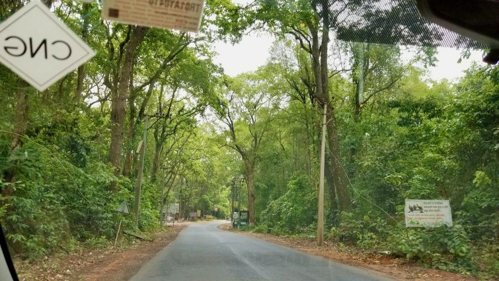 A Road in Tripura