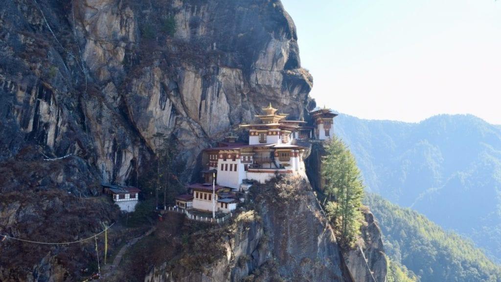 Taktsang monastery aka Tiger's nest is very near to me.