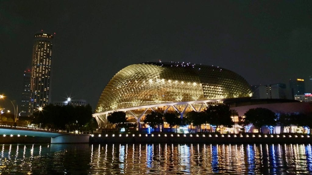 Esplanade or the theatres on the bay is an iconic architecture in Singapore.