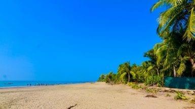 Beach in Saint Martin's Island in Bangladesh
