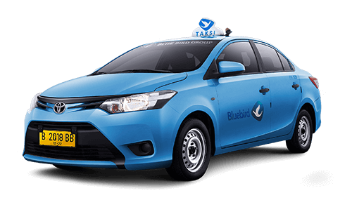 Bluebird Regular Limo Taxi. Bluebird taxi is the best option for going to Bali town from Bali Airport.