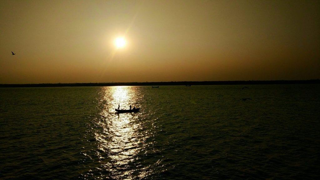 Boat in Naf River