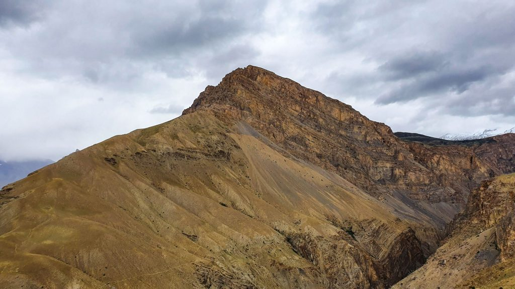 A brown mountain in Spiti valley.