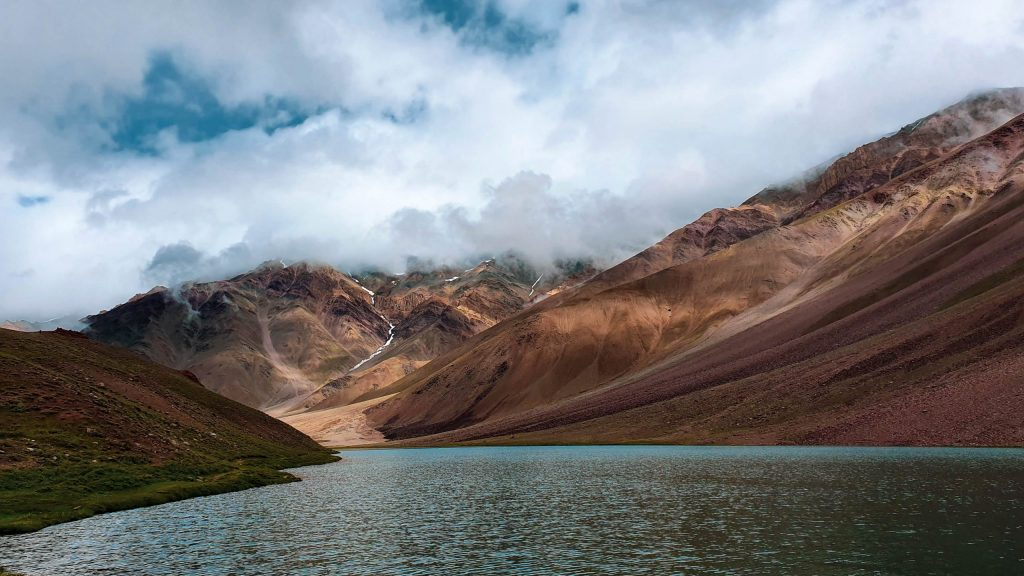Chandra Taal in Spiti valley is a beautiful lake.
