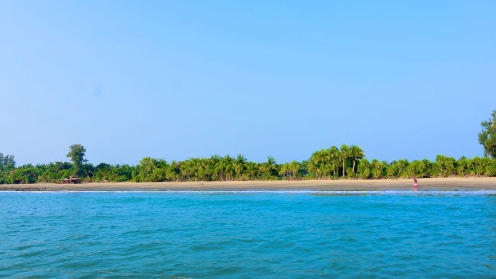 Chhera Island in Bangladesh