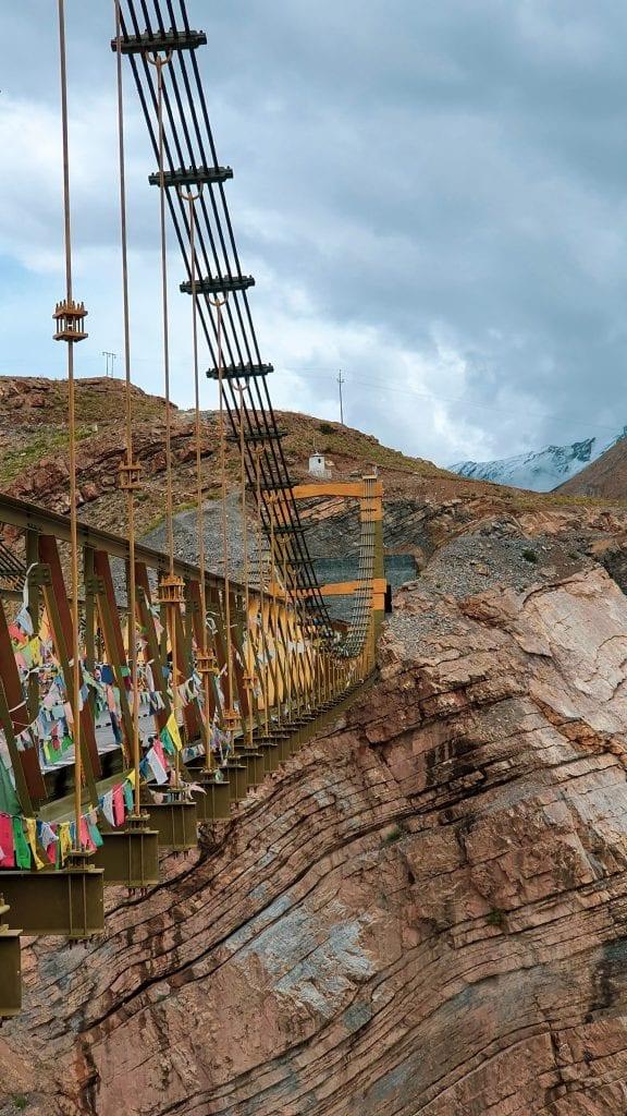 Chicham Bridge in India is the highest bridge in Asia