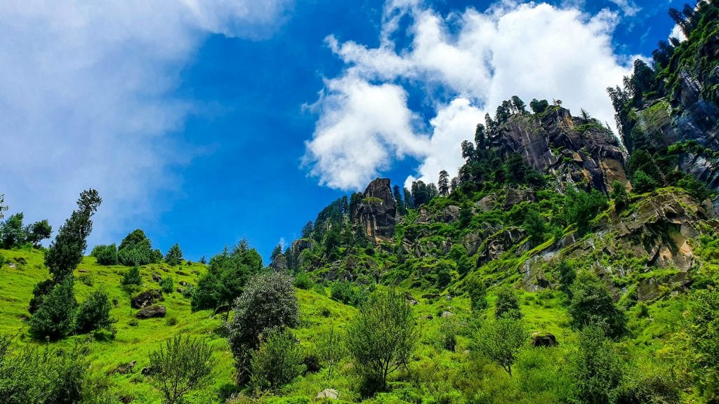 Green Mountain View in Manali