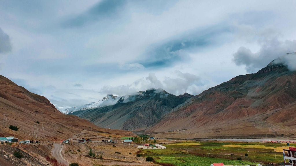 One cannot write a travel guide to Kaza in Spiti Valley without mentioning Kaza Bus Stand. You will go there several times during your Kaza visit.