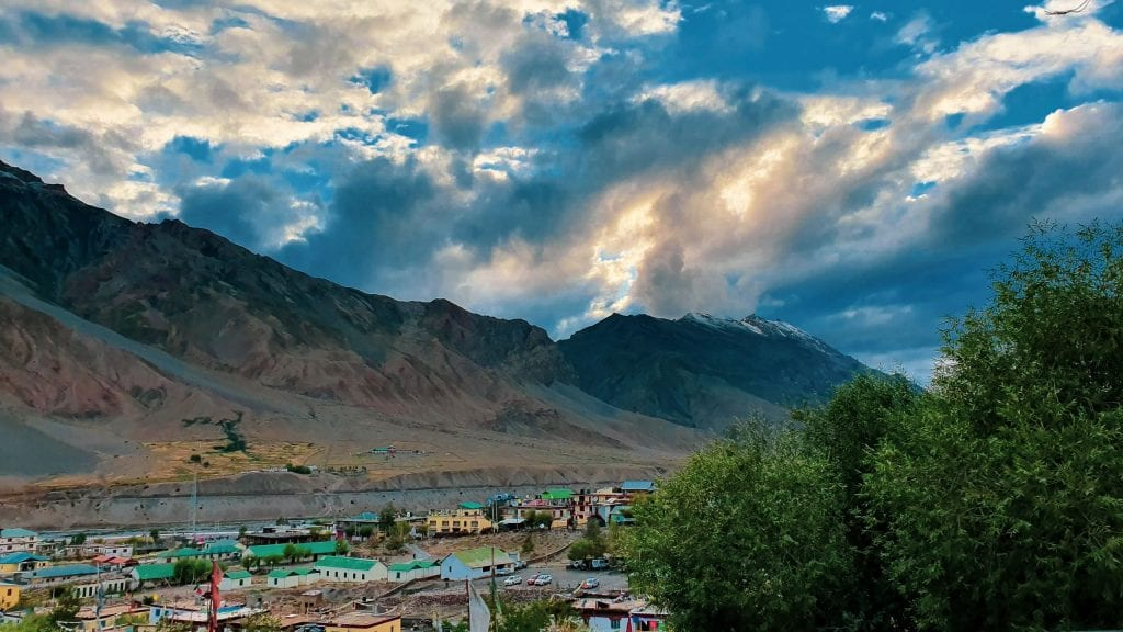 Kaza during month of August. This is the travel guide to Kaza in Spiti valley.