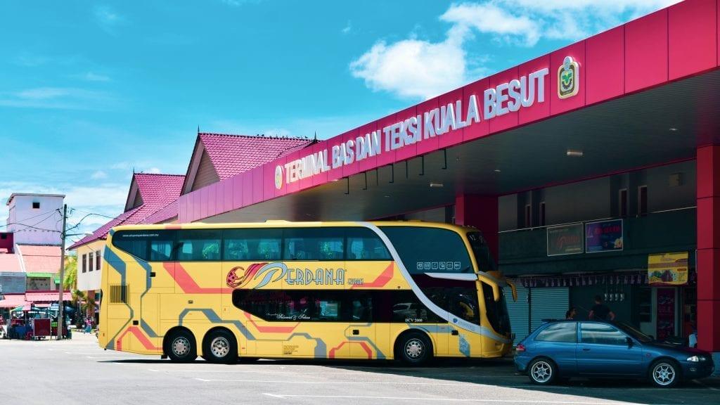 Kuala Besut bus terminal.
